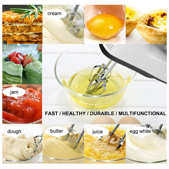 1PC Mini Electric Manual Mixer Food Multifunctional Eggbeater Food Processor Kitchen Cooking Tools