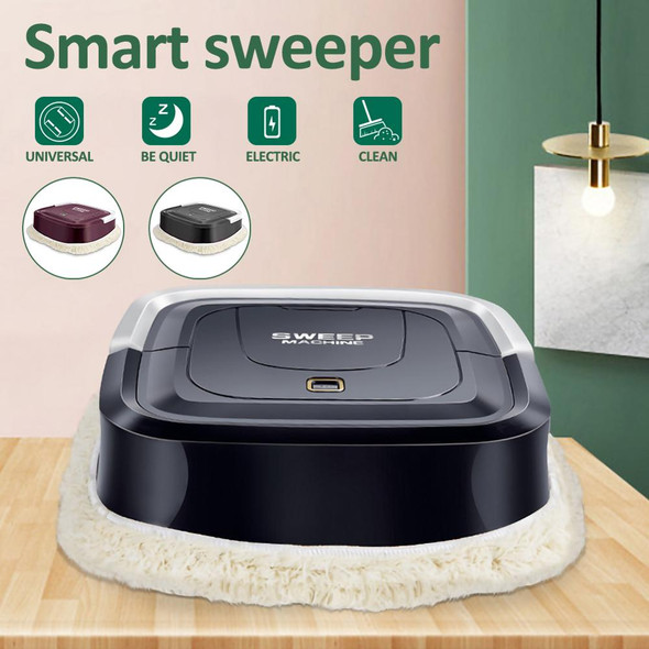 Automatic Smart Robot Vacuum Cleaner Floor Electric Mop Machine Sweeper Rechargeable For Home Electric Hand Push Vacuum Cleaners