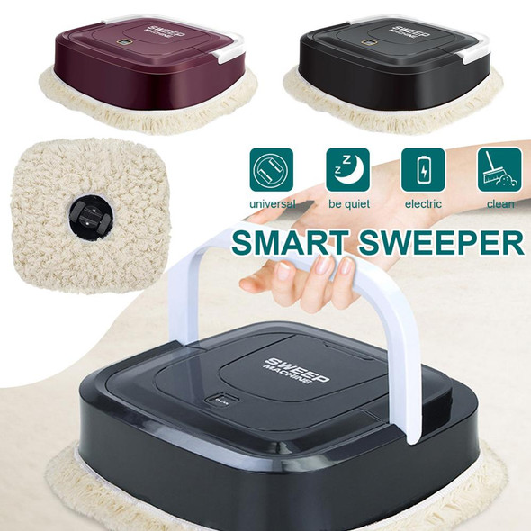 USB Charging Mini Mop Machine Smart Home Lazy Mopping Machine Automatic Mopping Robot Suitable for Kitchen Living Room Bedroom