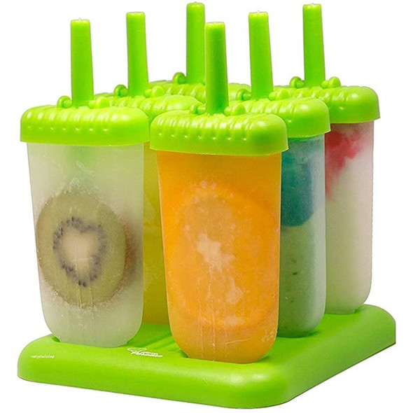 Food Grade Pp Material Creative Popsicle Mold Ice Box Ice Cream Mould Popsicle Mold Summer Diy Popsicle Mold