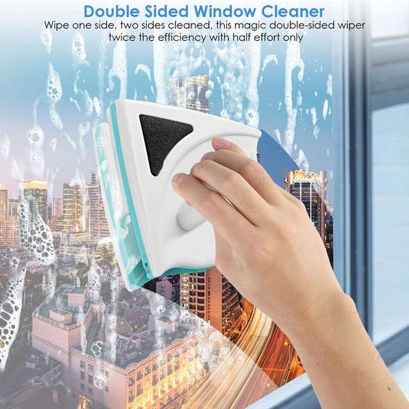 Double Side Magnetic Window Cleaners Household Window Glass Cleaning Brush Wiper Cleaning Tools for Washing Window