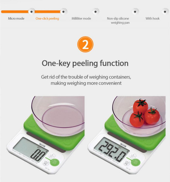 1pcs Portable Digital Scale Kitchen Food Balance Measuring Weight Scales Household Electronic Cooking Baking Scales