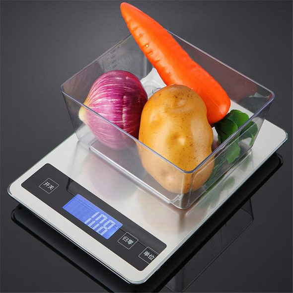Household Electronic scale 5Kg/10kg 1g Food Diet Postal Scales balance Measuring tool Slim LCD Digital Electronic Weighing scale