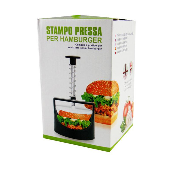 1pc Stuffed Burger Press Mould Slider Patty Mold Meat Maker Plastic Kitchen BBQ Cooking Tool Quality Food Grade Home Supplies