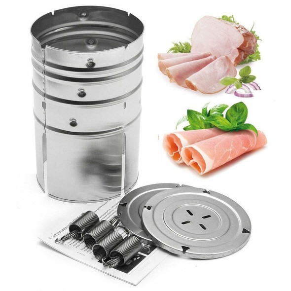 1PC Round Shape Stainless Steel Ham Press Maker Machine Seafood Meat Poultry Kitchen Tools Cooking Tools for Party cocina