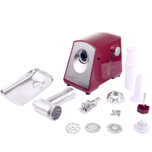 1000W Electric Meat Grinder Home Sausage Maker Meats Mincer Food Grinding Mincing Cutter Machine for Household Kitchen Tools