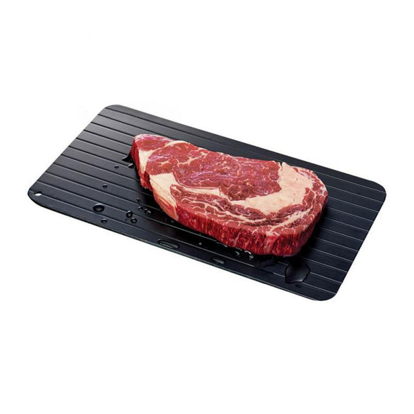 35.5*20.5*0.2cm Aluminum Plate Defrosting Kitchen Utensils Quickly Thaw Defrosting Tray Rapid Thaw