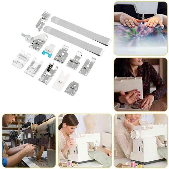 11pcs set Sewing Machine Accessories Presser Foot Feet Household Multi-Function Electric Concealed Zipper Lock Set
