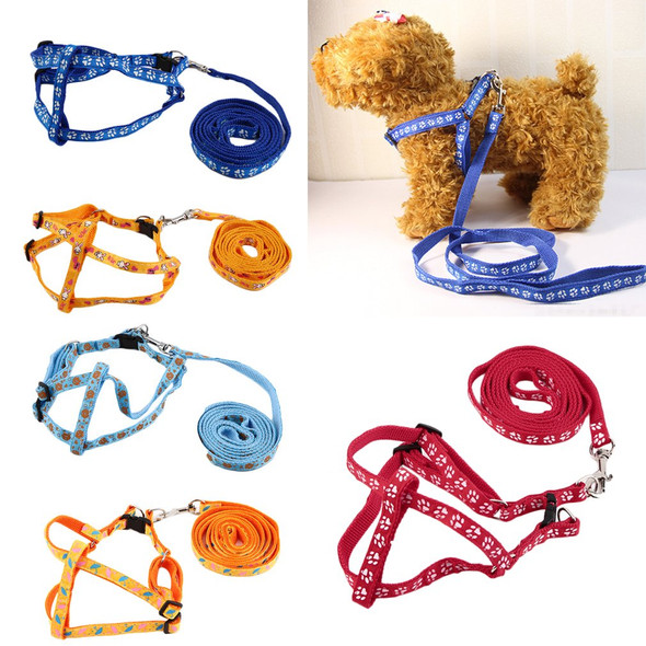 120cm Brand New Nylon Pet Cat Doggie Puppy Leashes Lead Harness Belt Rope Tie Collar Lead with Clip Hot Sell