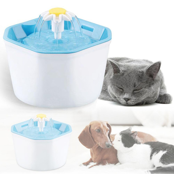 1.6L Automatic Pet Cat Water Fountain Ultra Quiet USB Dog Drinking Fountain Drinker Feeder Bowl Pet Drinking Fountain Dispenser