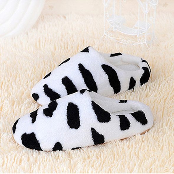Indoor Warm Fleece Slippers Ladies Girls Cartoon Winter Soft Cozy Booties Non-Slip Plush Slip-on Shoes Home Slippers