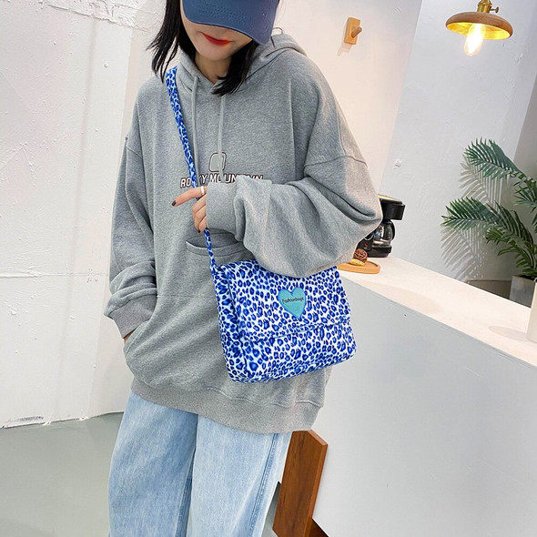 Leopard Printed Crossbody Bags Female Simple Totes PlushSmall Summer Lady Shoulder Handbags for Women 2020 Trend