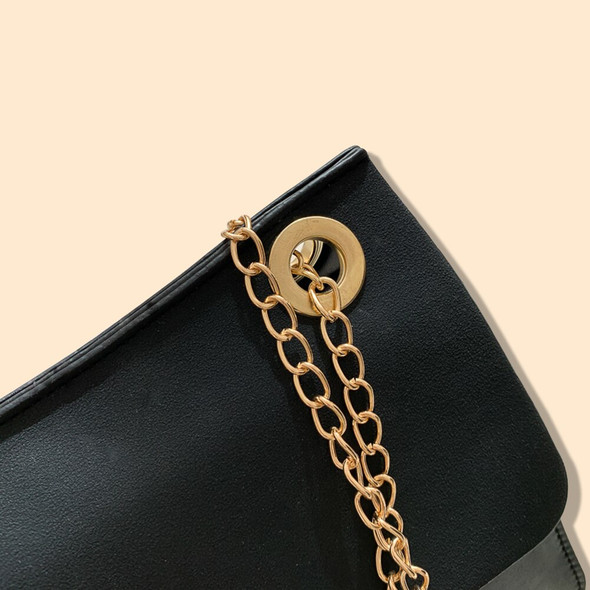 Simply Crossbody Bags Lady Chain Travel Small Handbags PU Leather Hit Colour Shoulder Shell Hasp Bag for Women 2020
