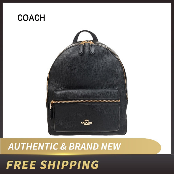 Coach  Medium Charlie Backpack in Pebble Leather F30550/F39196/F66935/F66853/F73116/F76729