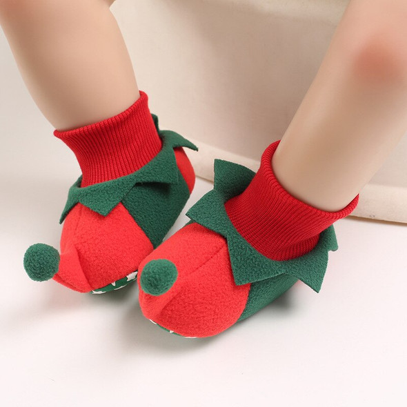 2020 New Christmas Baby Boots Lovely Enough Color And Pattern Design Lightweight And Non-slip Soles For Boys Kids Dropshipping