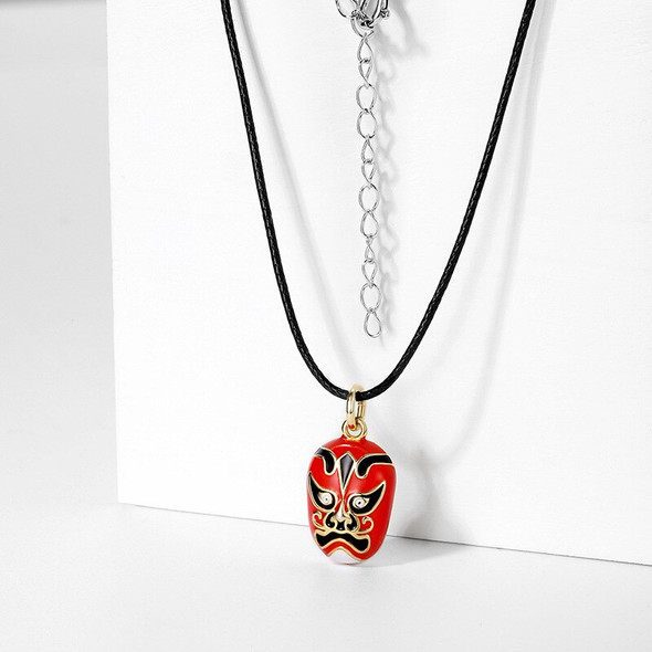925 sterling silver Chinese style face changing lady necklace pendant