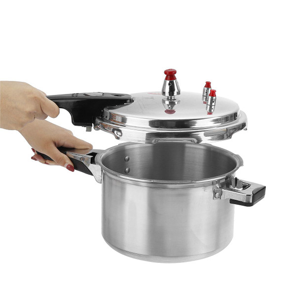20CM 4L Pressure Cookers Outdoor Camping Cooker Food Rice Dining Tool Home Kitchen Food Beam Meats Vegetables Soups Cooking Tool