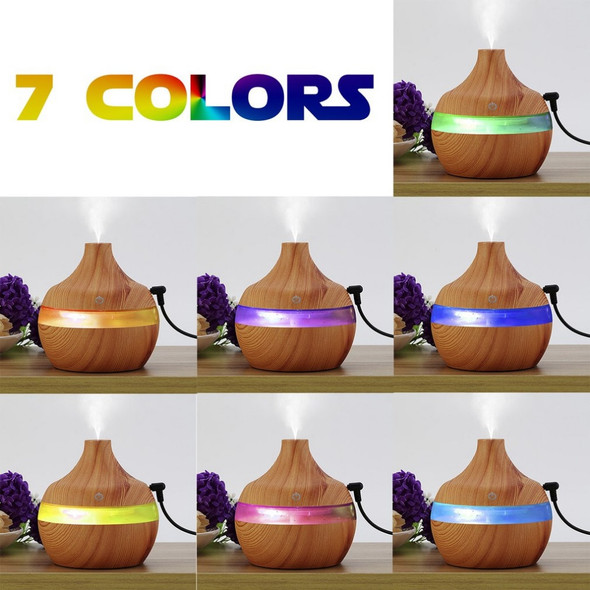 300mL wood grain Aromatherapy diffuser essential oil diffuser usb ultrasonic humidifier aromatherapy car diffusers for home room