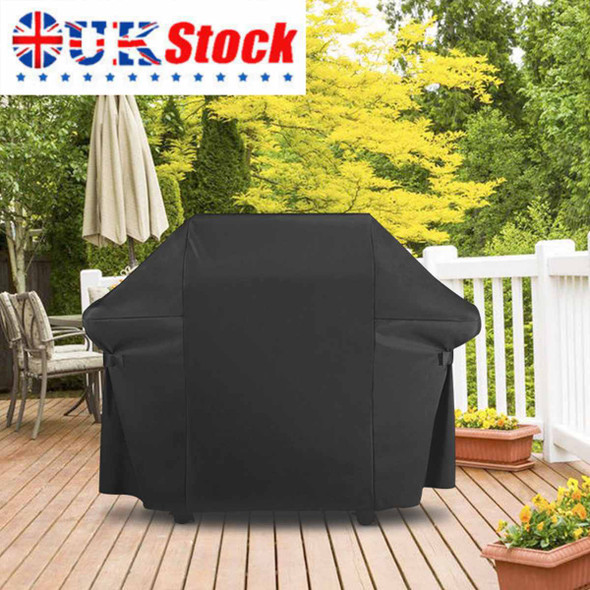 153X72X112CM Black Waterproof BBQ Cover BBQ Accessories Grill Cover Anti Dust Rain Gas Charcoal Barbeque Grill For Weber Grill