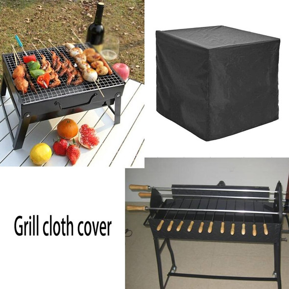 Waterproof BBQ Cover Dustproof Polyester Fibre Cloth Large BBQ Cover Gas Barbecue Grill Cover For Patio Protector 68X68X72cm