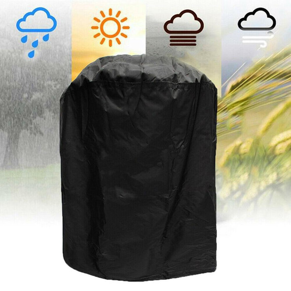 210D waterproof and rainproof Oxford cloth barbecue cover BBQ waterproof cover 190T waterproof and rainproof barbecue grill