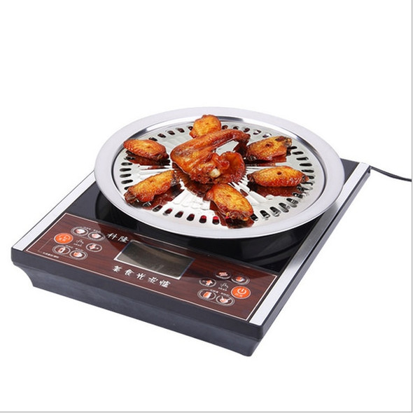 Smokeless Barbecue Grill Pan Gas Household Non-Stick Gas Stove Plate Electric Stove Baking Tray BBQ Grill Barbecue Tools Outdoor