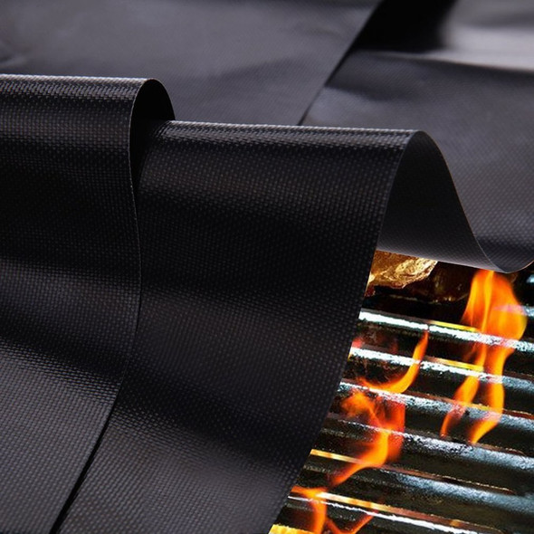 Outside Use Reusable Non-Stick BBQ Grill Mat Pad Baking Sheet Meshes Portable Outdoor Picnic Cooking Barbecue Tool