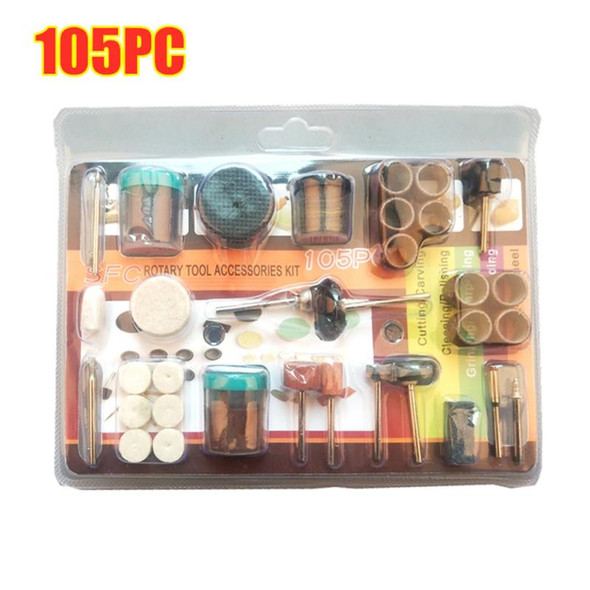 105/216pcs Set Of Tools Electric Grinding And Polishing Set Of Power Tools Glass Polishing Engraving Tools For Auto Hand Tools