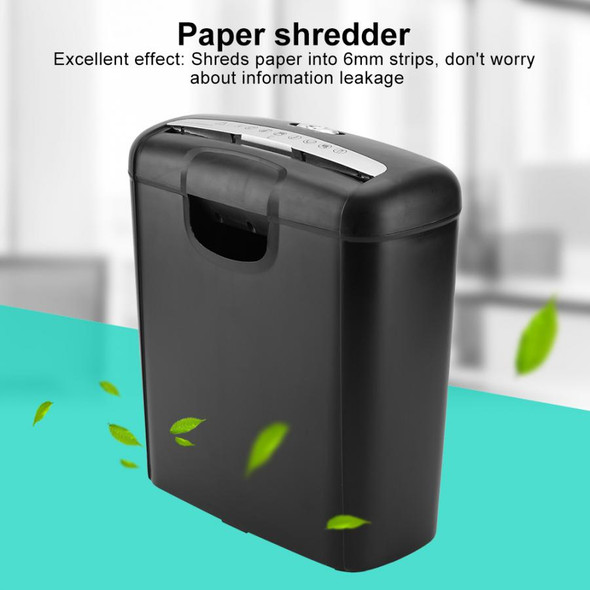 10L Office Paper Shredder Home Office Electric Shredder Paper Cut Destroy Crusher Destroyer Paper Documents Cutting Machine