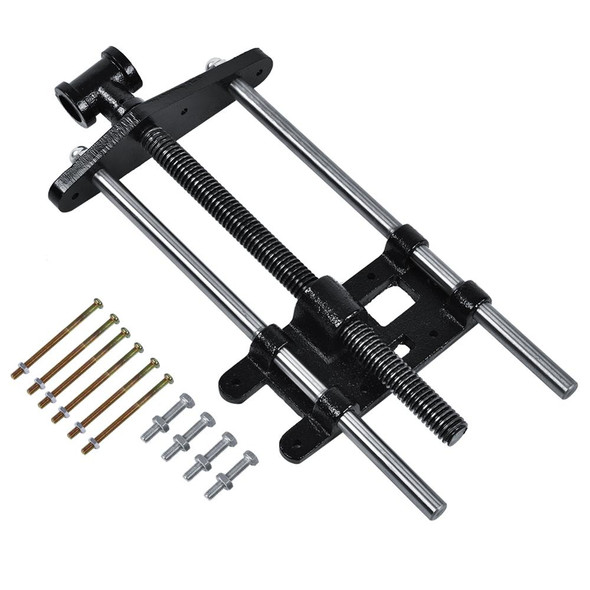 """10.5"""" Woodworker Heavy Duty Table Vise Woodworking Metal Clip Clamp"""