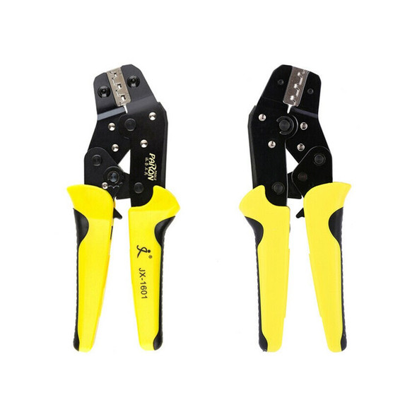 PARON JX-1601-08 Pliers Crimpers Wire Engineering Ratchet Terminal Crimping Pliers JX-48B 3.96 to 6.3mm 26-16AWG Hand Tools