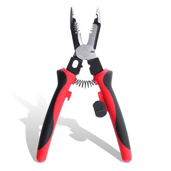 Six-in-one Wire Stripping Pliers Multi-function Electrician Special Pliers 9 Inch Pliers Cable Separation Cut Wire Crimping Tool