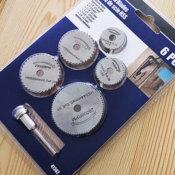 Mini Circular Saw Blade Hss Cutting Disc Rotating Drilling Tool Accessories For Wood Plastic And Aluminum