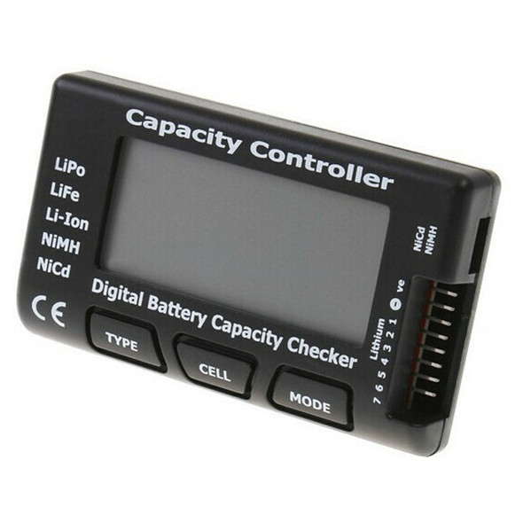 Universal RC CellMeter-7 Digital Cell Battery Capacity Checker For LiPo LiFe Li-ion Nicd NiMH Battery Voltage Tester Checking