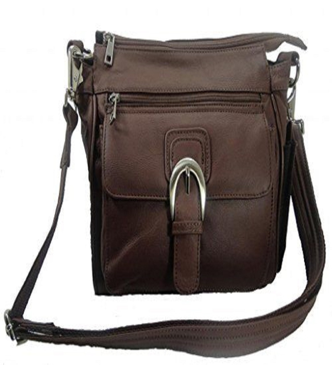 a154fc16eb Leather Concealed Carry Cross Body Gun Purse Left or Right Hand W ...