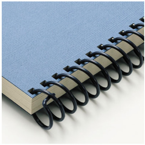 blue spiral binds - office products