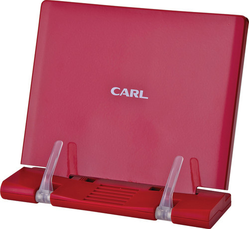 Carl office products - Red tablet book stand