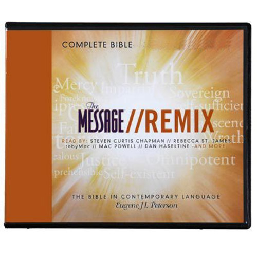 The Remix Message Bible Audio Bible download for iPod and MP3