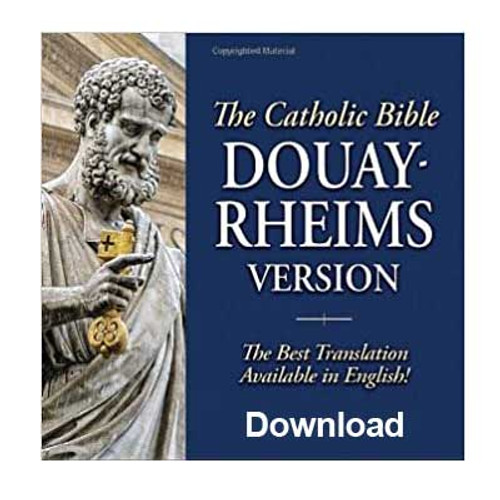 Front view - Douay Rheims Catholic Bible Download