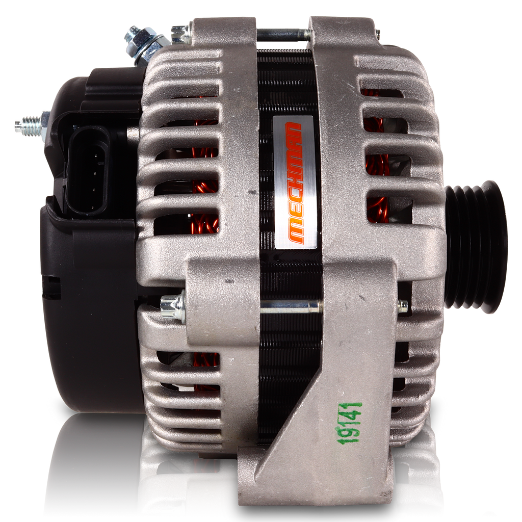 240 amp high output GM Truck / SUV alternator w/ 4 pin oval plug