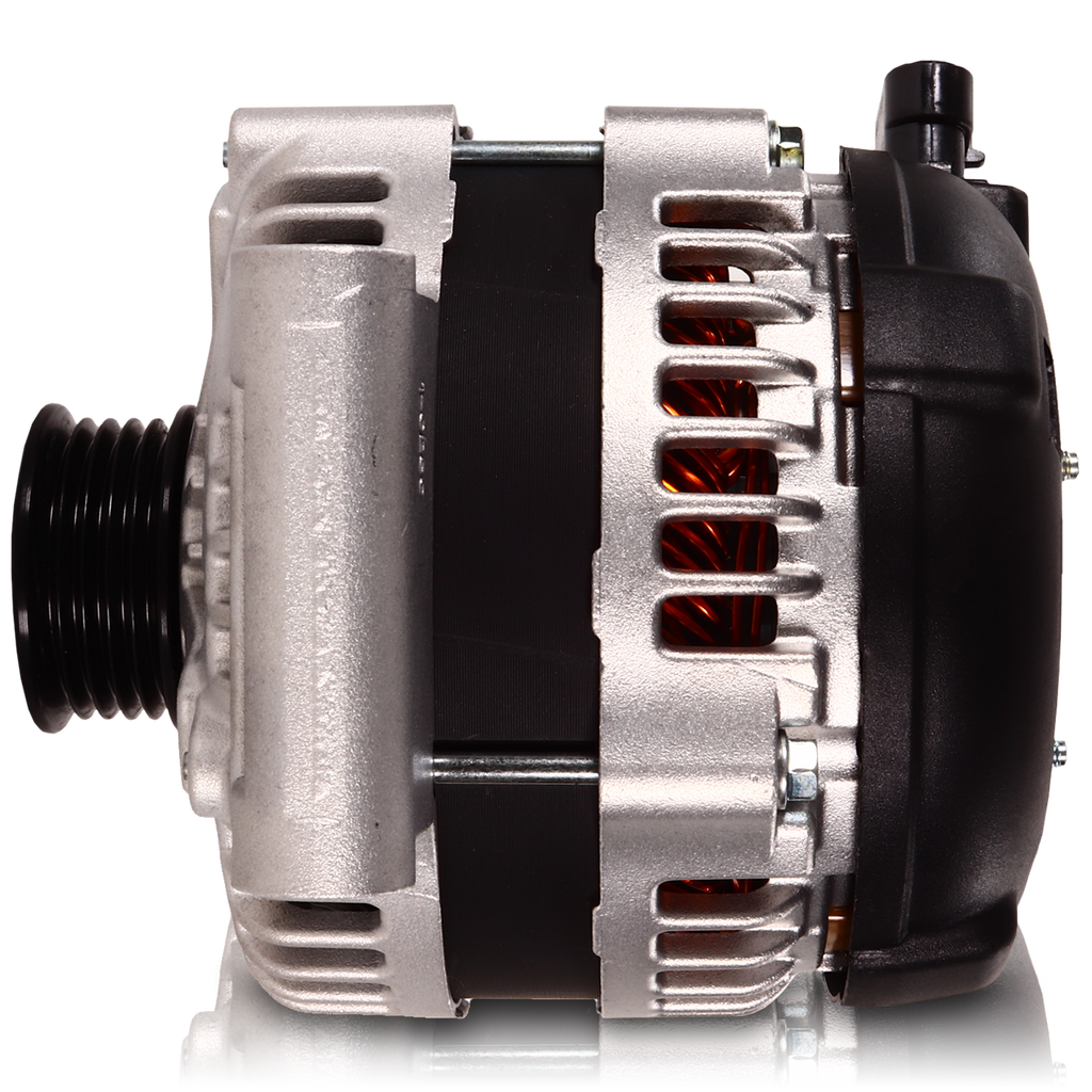 240 amp Alternator for GM Ecotec - Single Wire Turn On