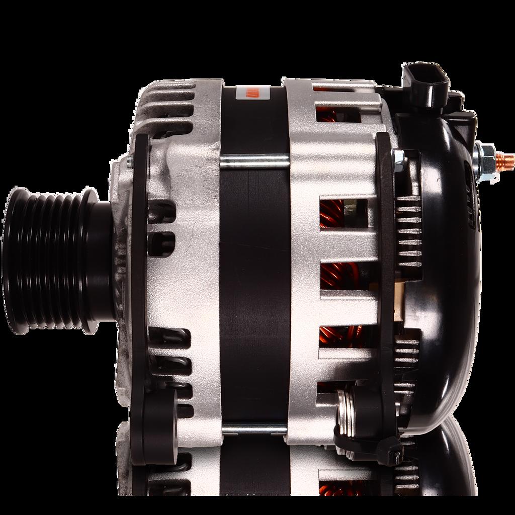 370 amp Alternator for VW / Golf / Jetta / Passat Turbo (6-groove pulley only)