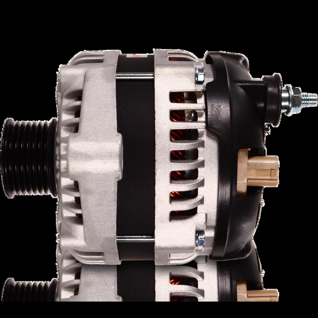 S Series 6 phase 240 amp alternator for Dodge saddle mount