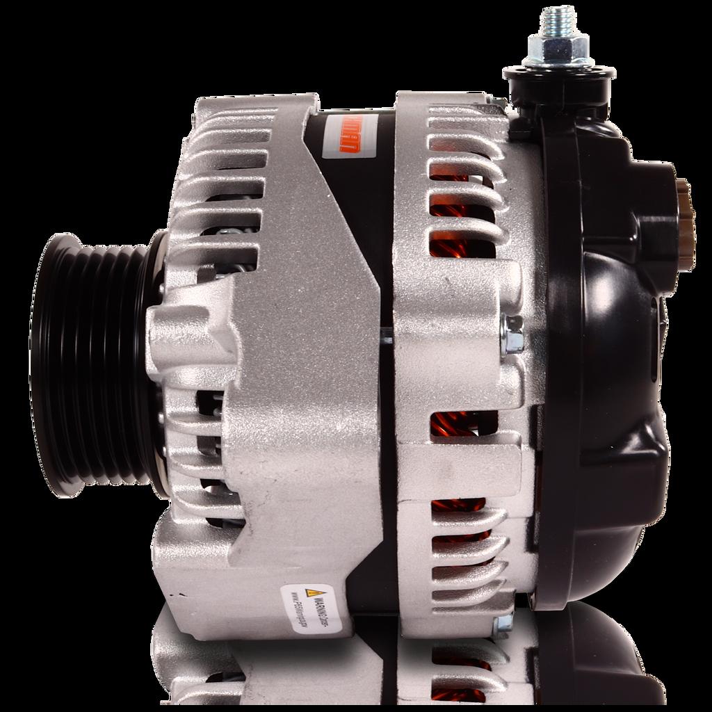 170 amp high output racing alternator for Toyota Supra 1JZ 2JZ