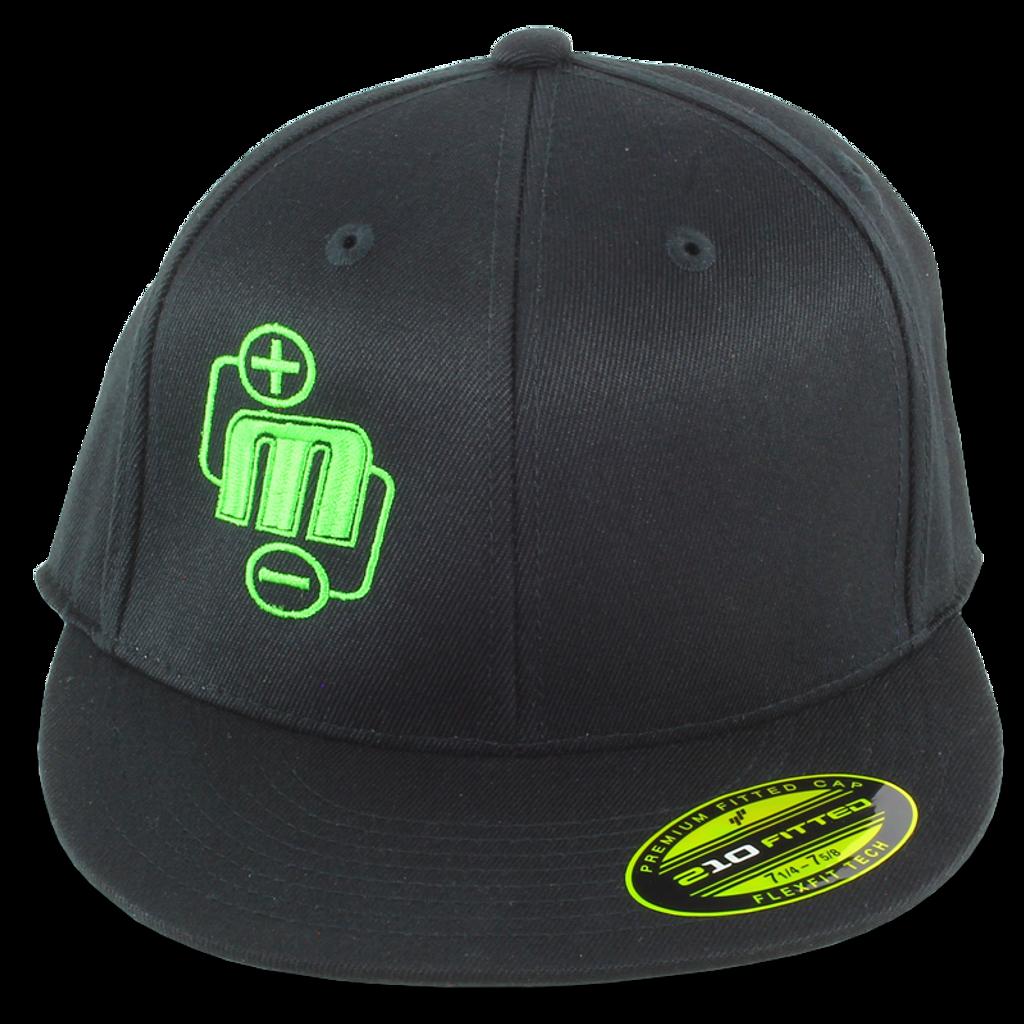 ff228164ab4969 Mechman Embroidered Flexfit 210 Flatbrim Fitted Hat - Mechman ...