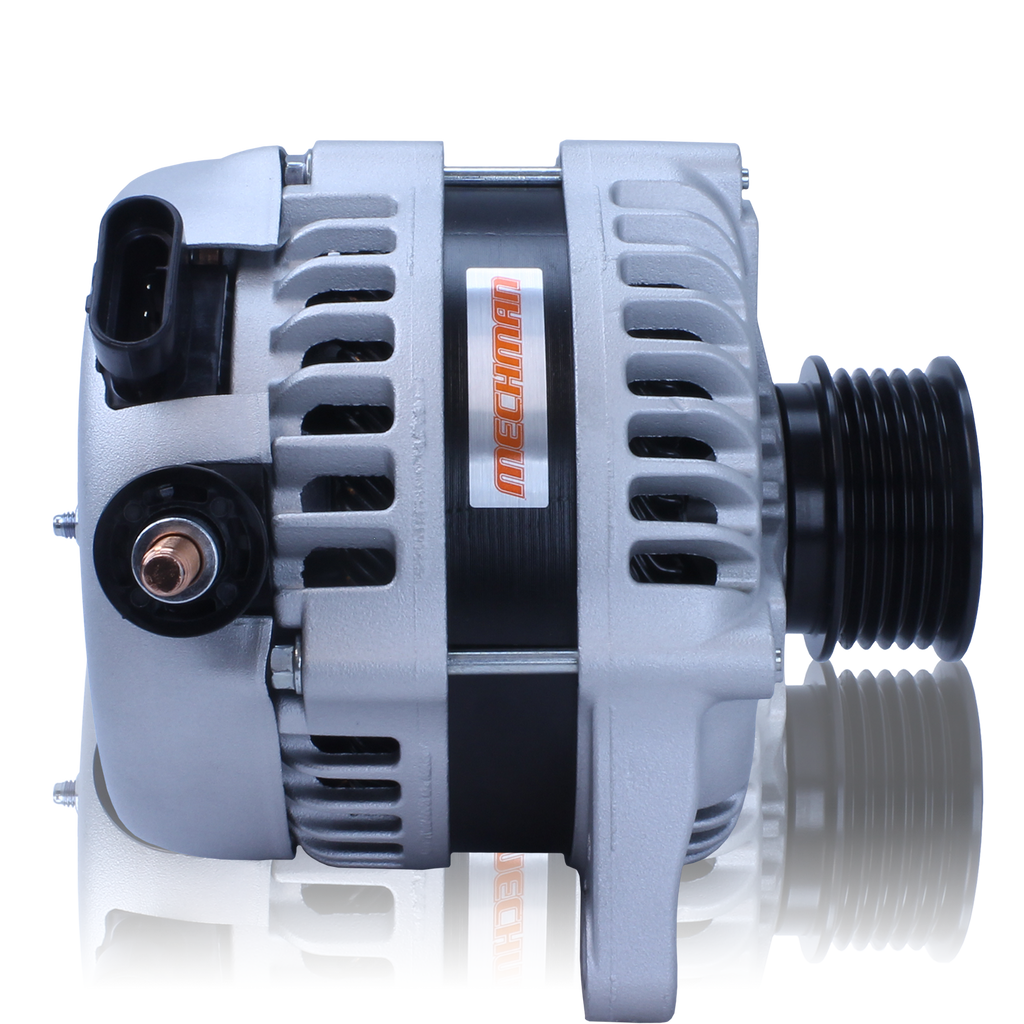 170 amp high output racing alternator Ford 5.0L Coyote engine swap