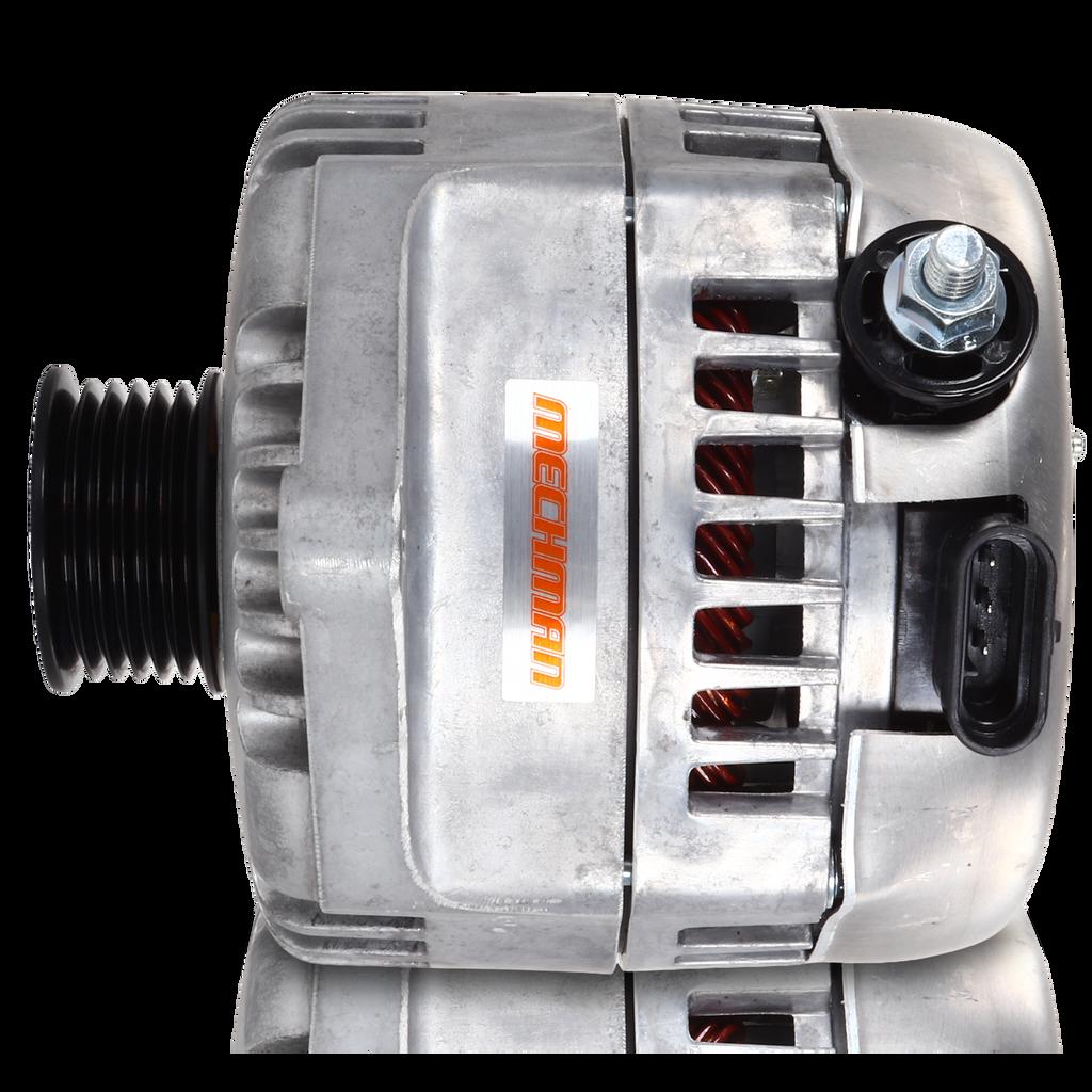 320 amp Racing alternator - Natural Finish