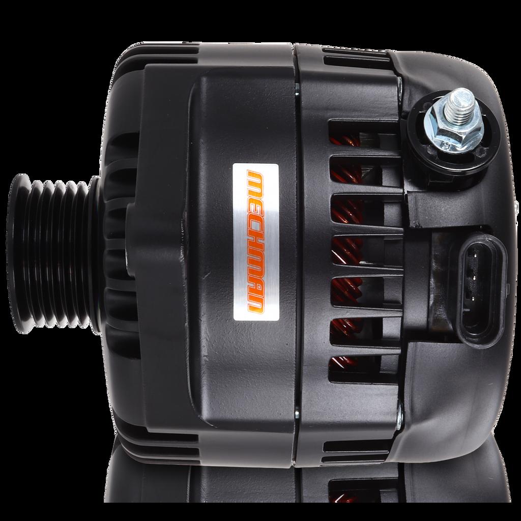 240 amp racing alternator -  BLACK