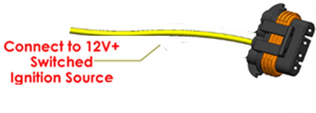 240 amp alternator for T mount 2.4L Honda - 1 wire turn on
