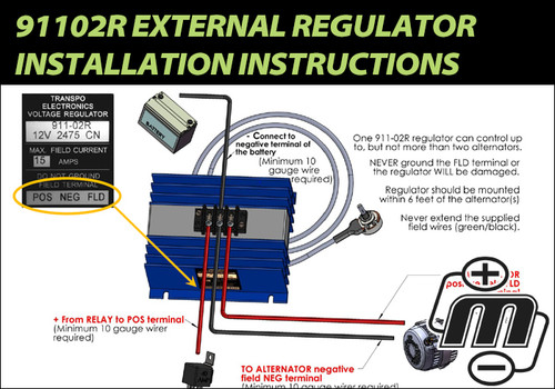 91102R External Regulator Installation